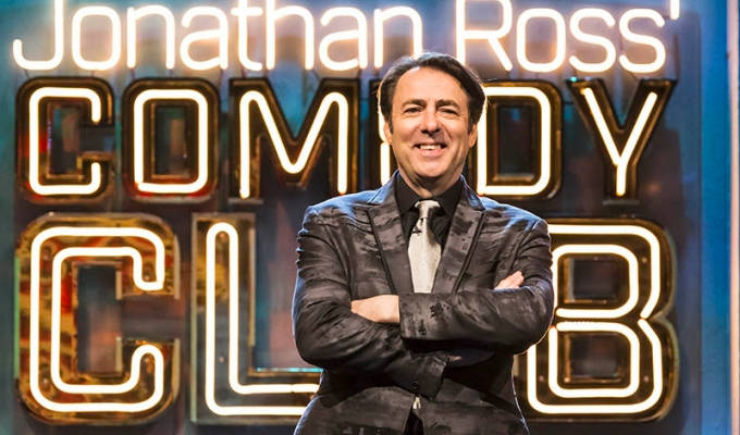 Who's on Jonathan Ross's Comedy Club this week? | The week's best comedy on TV and radio