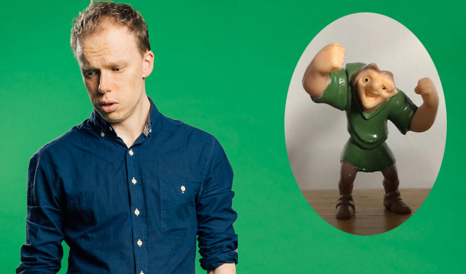 We've a Hunch this was never going to work | Jordan Brookes secreted a Quasimodo toy up his backside for a whole show
