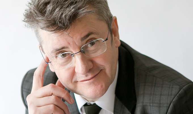 Joe Pasquale's rock show | Comic in talks for a TV series about geology