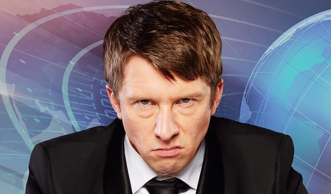 Jonathan Pie: Back To The Studio | Gig review by Steve Bennett at The New Theatre, Oxford