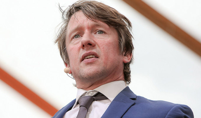 Jonathan Pie at Latitude 2018 | Review by Steve Bennett