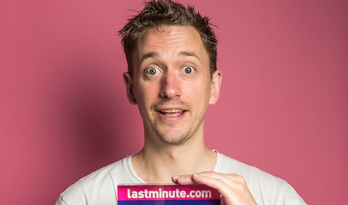 John Robins: I'd be dead if they had online gambling when I was a teen | Comic speaks up about his addiction