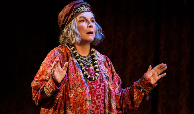 Plaudits for Jennifer Saunders in Blithe Spirit | Comic's stage return wins four-star reviews