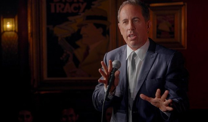 Jerry Seinfeld performs a secret London gig | ...and Chortle was there to see it