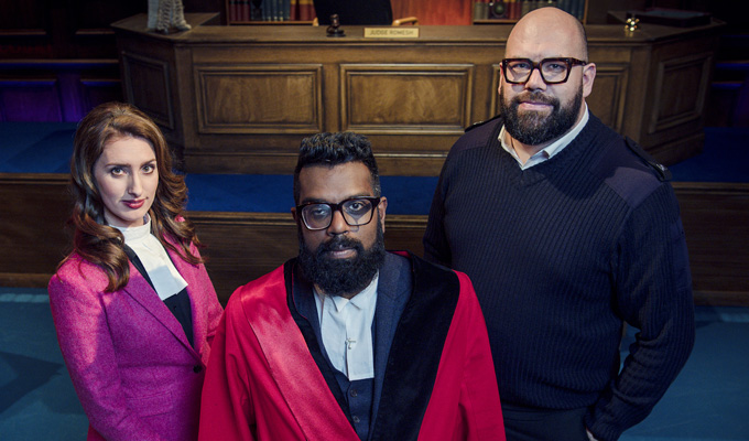 Jessica Knappett joins Judge Romesh | Dave finally confirms second series