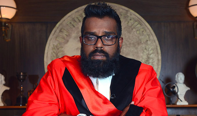 Judge Romesh | TV preview by Steve Bennett