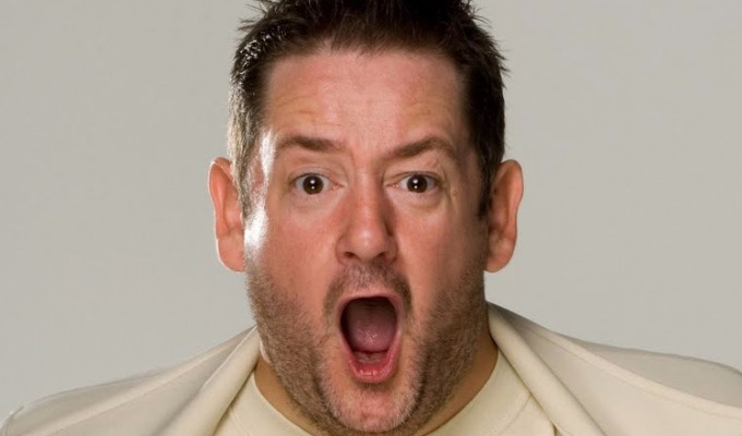 Johnny Vegas to star in Murder On The Blackpool Express | With Car Share's Sian Gibson