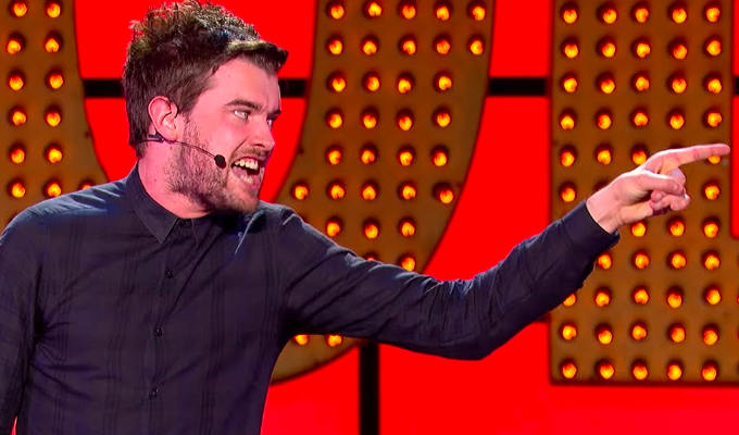 BBC raps Jack Whitehall over dwarf jokes | ...but clears Fin Taylor for 'bomb Glastonbury' gag