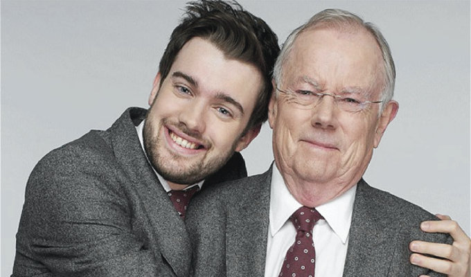 Jack Whitehall joins Chortle book festival | Double-bill with QI creator John Lloyd