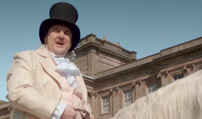 Pride and Breadjudice | Watch Peter Kay spoof costume dramas in new Warburtons ads
