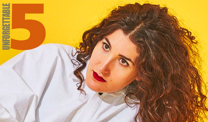 'I came out in a wheelchair wearing a kimono' | Kate Berlant recalls her most memorable gigs