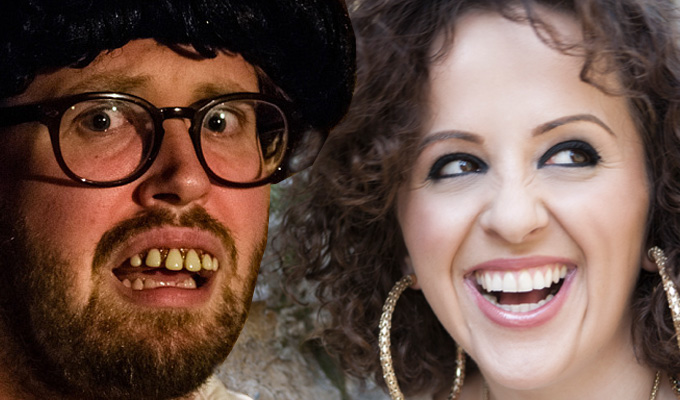 Kearns and Omielan up for Barry Award | Australia's biggest live comedy accolade