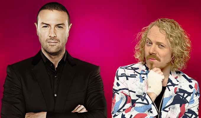 New ITV show for Keith Lemon and Paddy McGuinness | Making movie spoofs