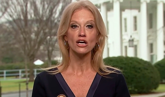 Unearthed: The stand-up comedy of Trump apologist Kellyanne Conway | ...and it's excruciating