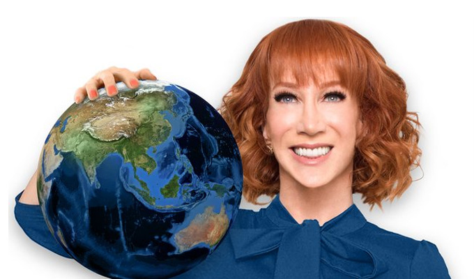 Kathy Griffin named 'comedian of the year' | Honour from the Palm Springs International Comedy Festival