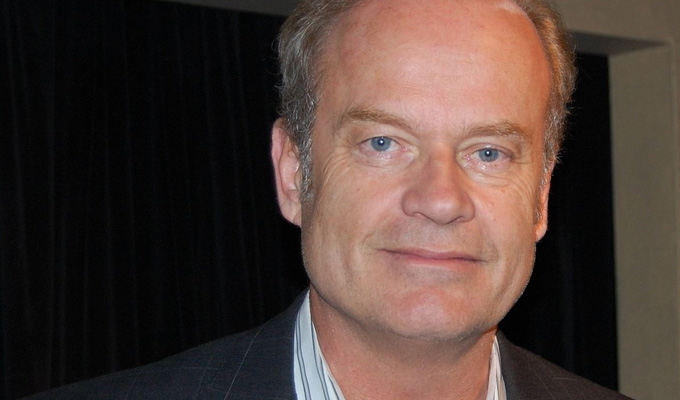 Kelsey Grammer joins Dave sitcom | Fraser star is a neurologist in hospital comedy