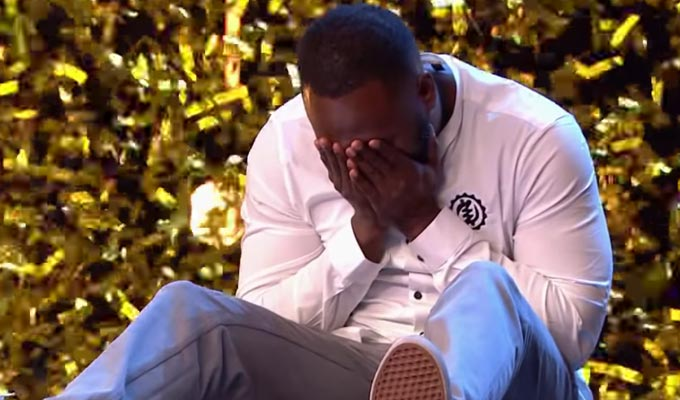 Comic Kojo makes Britain's Got Talent semi-finals | Thanks to Simon Cowell's golden buzzer