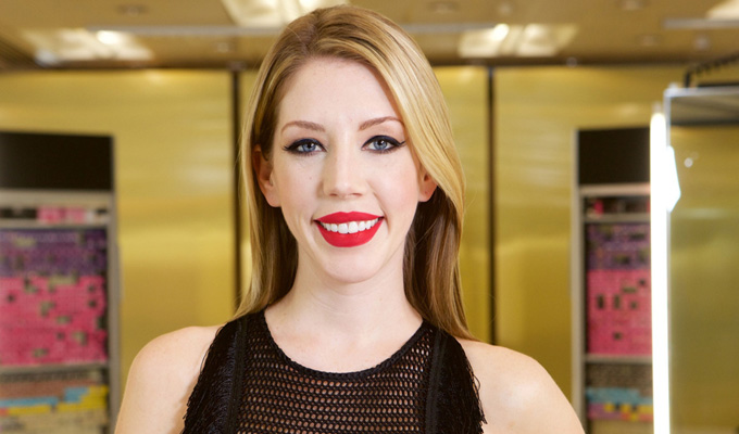 Katherine Ryan's Hair transplant... | Comic to take over as host of reality show