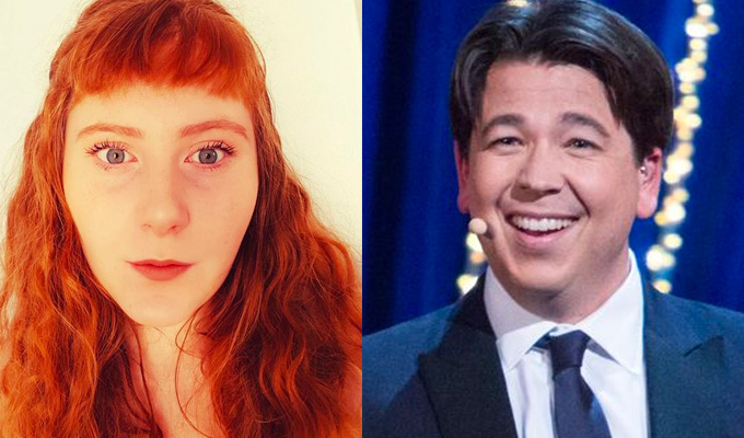 Michael McIntyre's jokes put me in hospital! | Student hurt herself laughing too much
