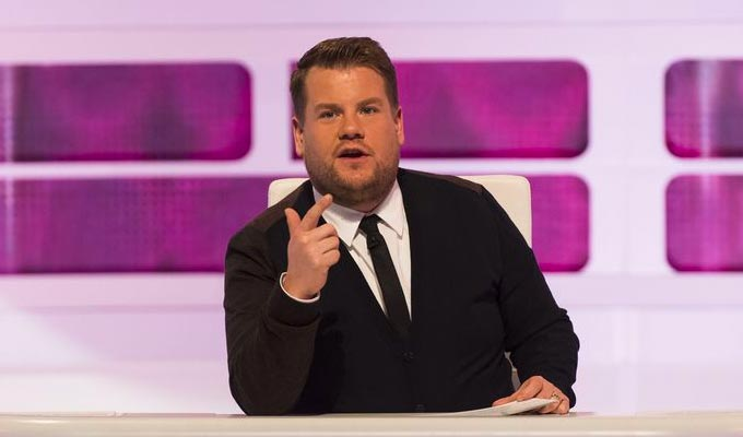 Who's standing in for James Corden on A League Of Their Own : News 2019 :     Chortle : The UK Comedy Guide