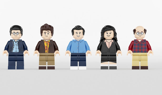 Seinfeld gets a Lego makover | Vote to make this sitcom kit a reality