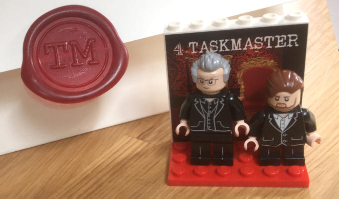 The Taskmaster's cut down to size | Greg Davies and Alex Horne become Lego figures