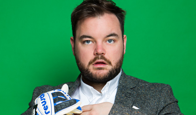 Lloyd Griffith to host Soccer AM | Comic joins Sky Sports show