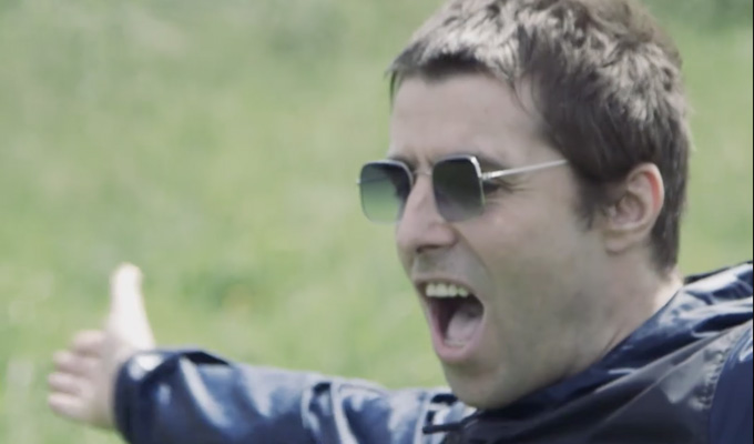 The day Liam Gallagher woke up next to Steve Coogan | ...and he was in Alan Partridge mode