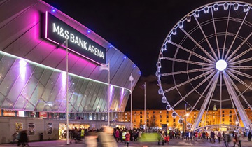 Liverpool M&S Arena and Auditorium