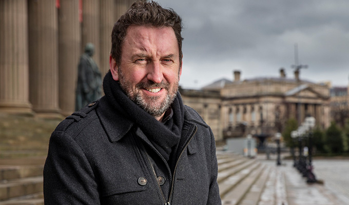 How Lee Mack's comedian great-grandfather walked off the battlefield and on to the stage | Revelations in the next Who Do You Think You Are?