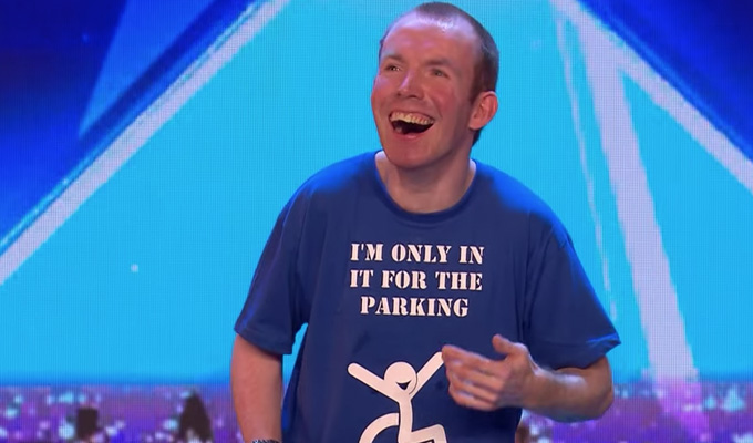 Lost Voice Guy to appear on Britain's Got Talent | Lee Ridley impresses judges