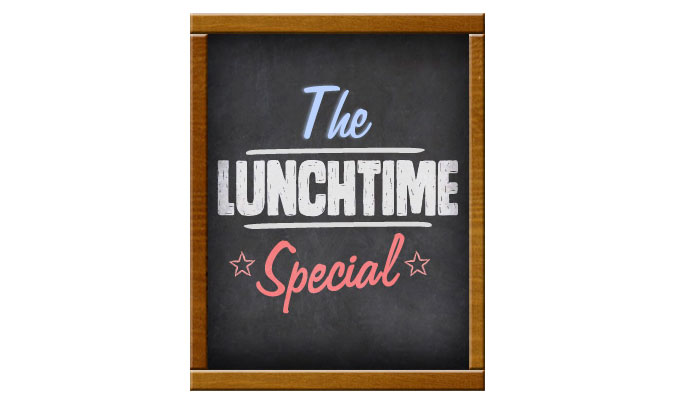 Lunchtime Special 2013