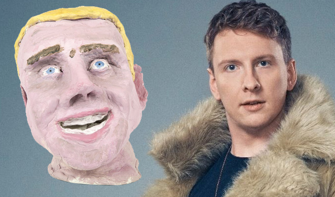 Joe Lycett has a bust reduction | Comic slashes the cost of his Royal Academy sculpture