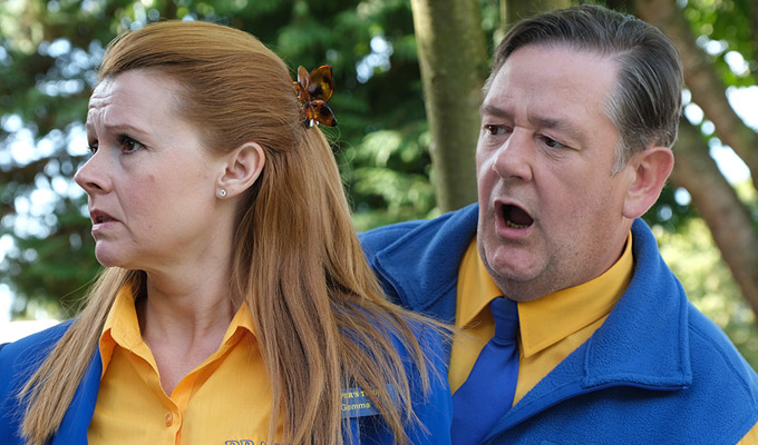 Women like me because I'm a project... | Meet Johnny Vegas and the rest of the Dial M For Middlesbrough cast