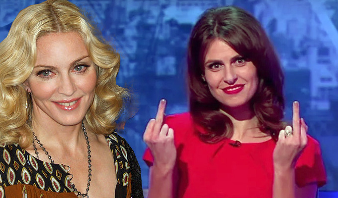 The Mash Report's in Vogue with Madonna | BBC Two satire has a major celebrity fan...