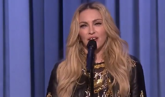 Now THAT's an opening act | Madonna warms up for Amy Schumer