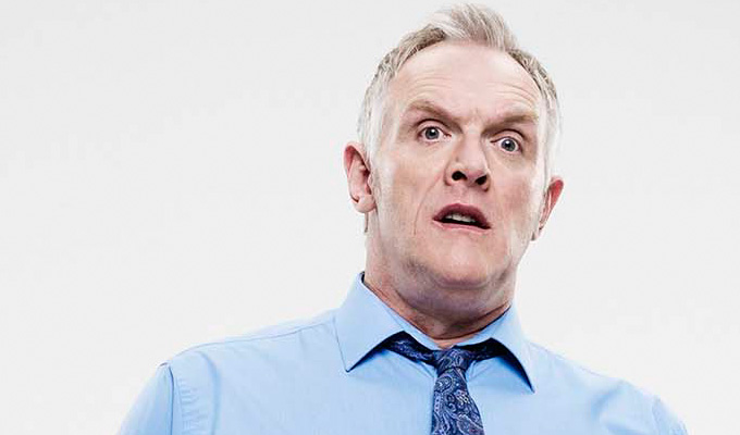 Man Down gets a third series | Greg Davies breaks the news