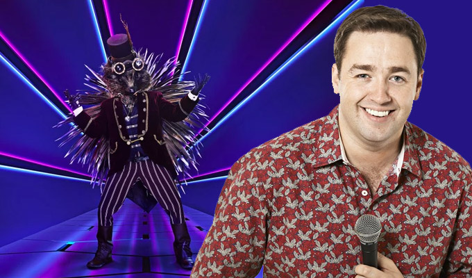 Jason Manford unmasked as the Hedgehog | Comic *was* the Masked Singer
