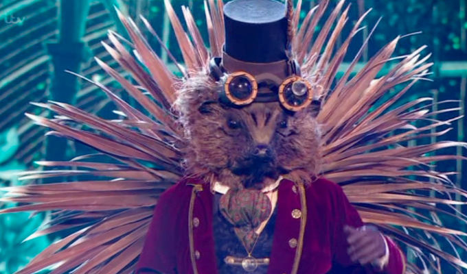 Which comedian was the Hedgehog in the Masked Singer? | Test your knowledge of the comedy news of 2020...