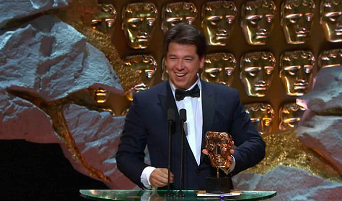Michael McIntyre wins his first Bafta | All the comedy victors named