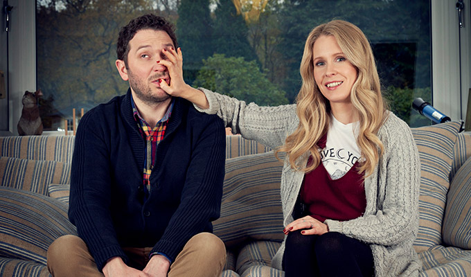 Meet The Richardsons gets a third series | More domestic strife from Jon Richardson and Lucy Beaumont