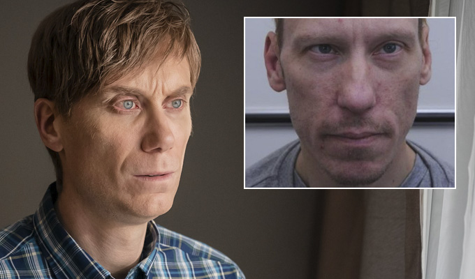 First image of Stephen Merchant as killer Stephen Port | In BBC One's fact-based drama The Barking Murders