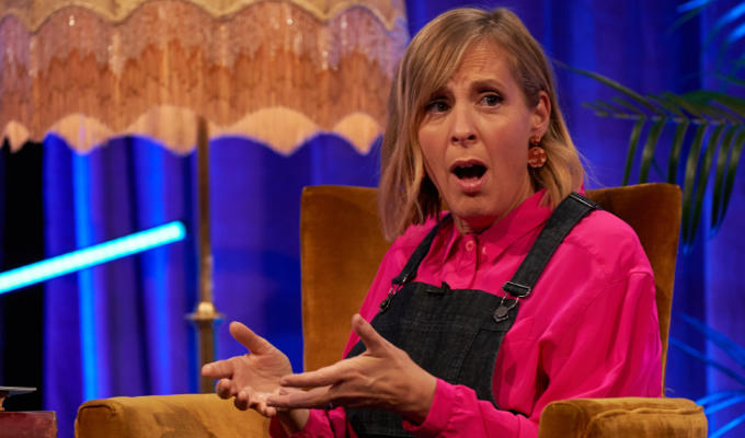 'There are a fair amount of poo stories....' | Mel Giedroyc talks about her new Dave show, Unforgivable