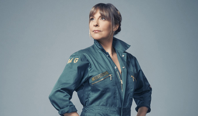 The unrehearsed Mel Giedroyc | Comics take part in plays, with no preparation