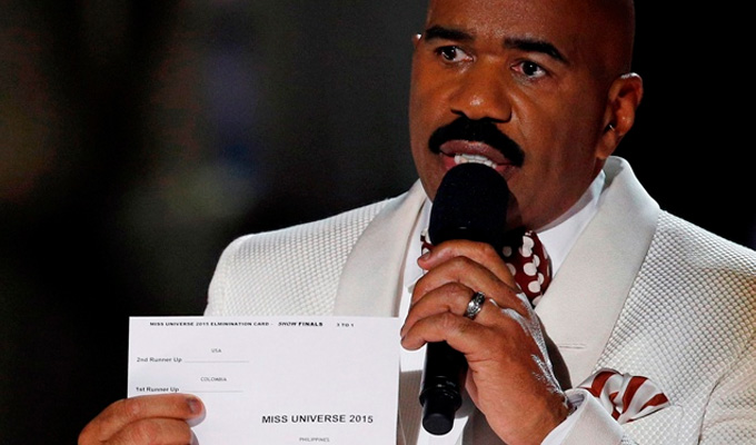 And the winner is... Miss Take | Up to 1billion see comic Steve Harvey's beauty pageant error