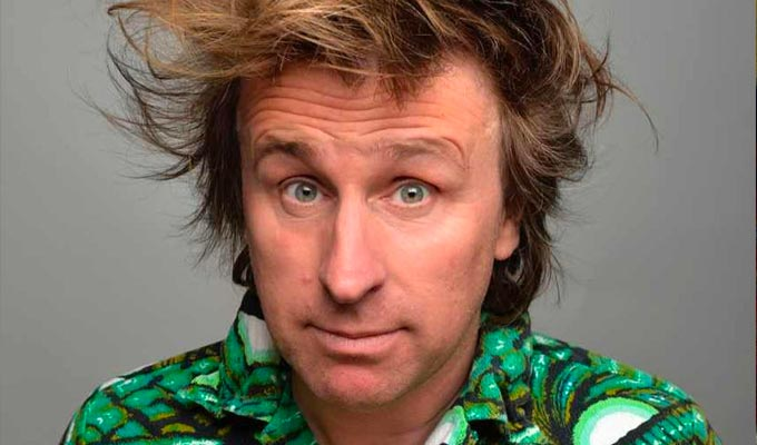 Milton Jones reschedules his autumn dates | Not a good sign for the early resumption of live comedy...