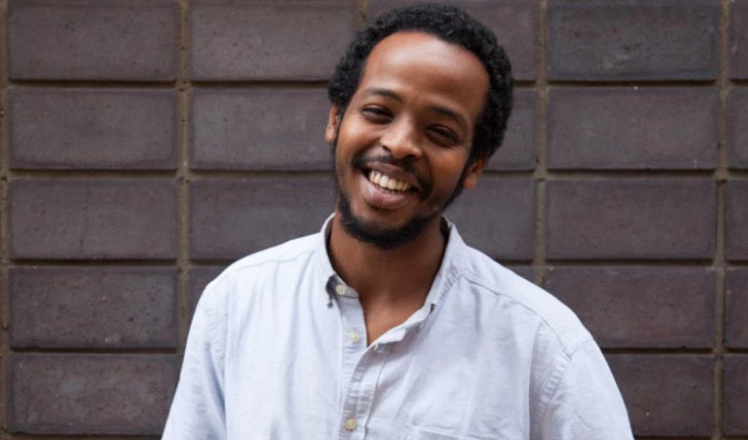 Mohamed Omar takes New Comedian title | Final at Leicester Square Theatre tonight.