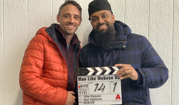 Filming starts on Man Like Mobeen series 3 | Guz Khan posts a first picture from the Birmingham set