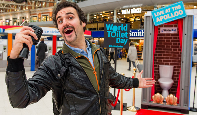 Is this sit-down comedy? | Patrick Monahan entertains commuters in the loo