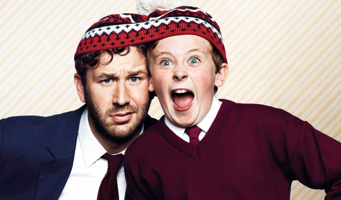 You'll see the whole of the Moone Boy | Signed series 2 DVDs to be won
